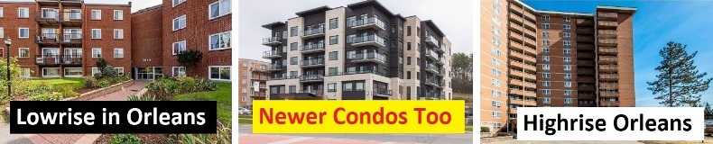 Orleans Condos in all areas