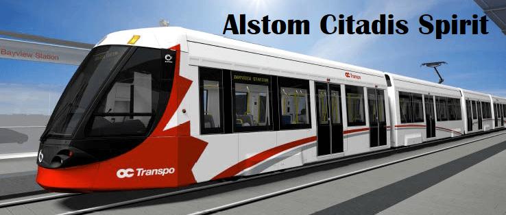 image of a light rail transit vehicle