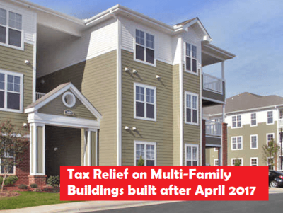 tax savings after new rules on multifamily