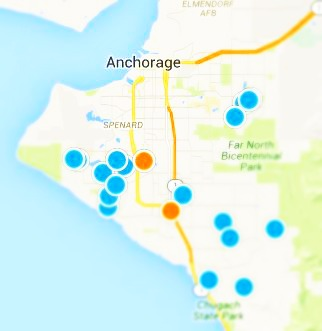 Anchorage Real Estate Map