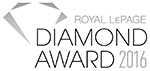 Royal LePage Diamond Award 2016
