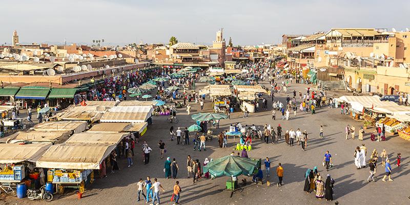 Djemaa El Fna square