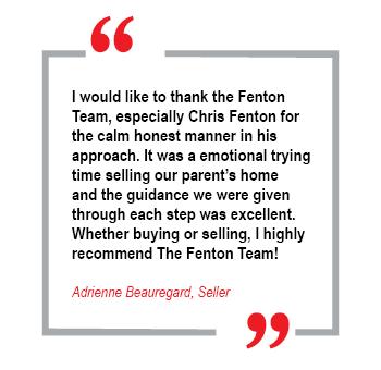 the fenton team real estate testimonial 2