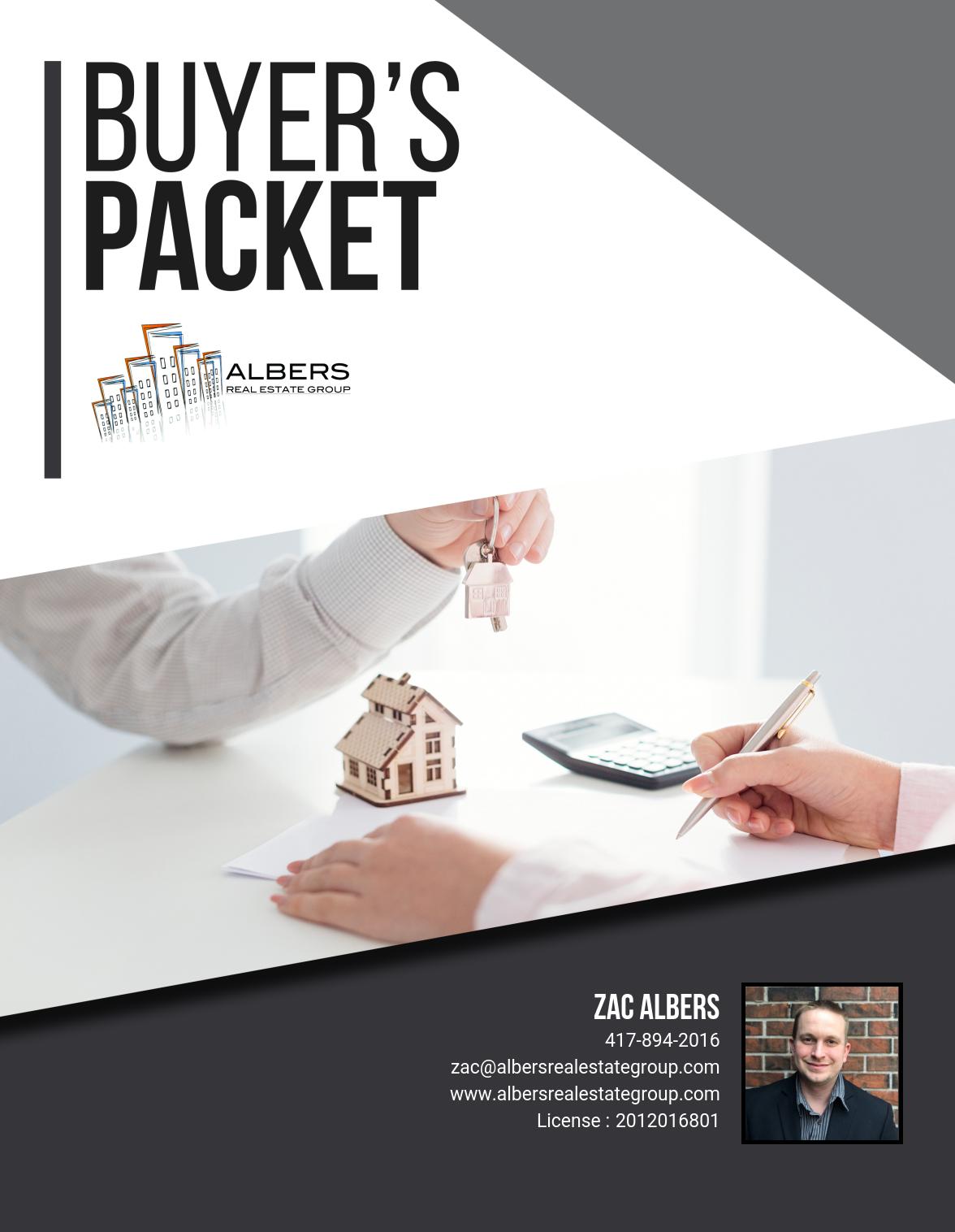 Albers Buyers Packet - 1