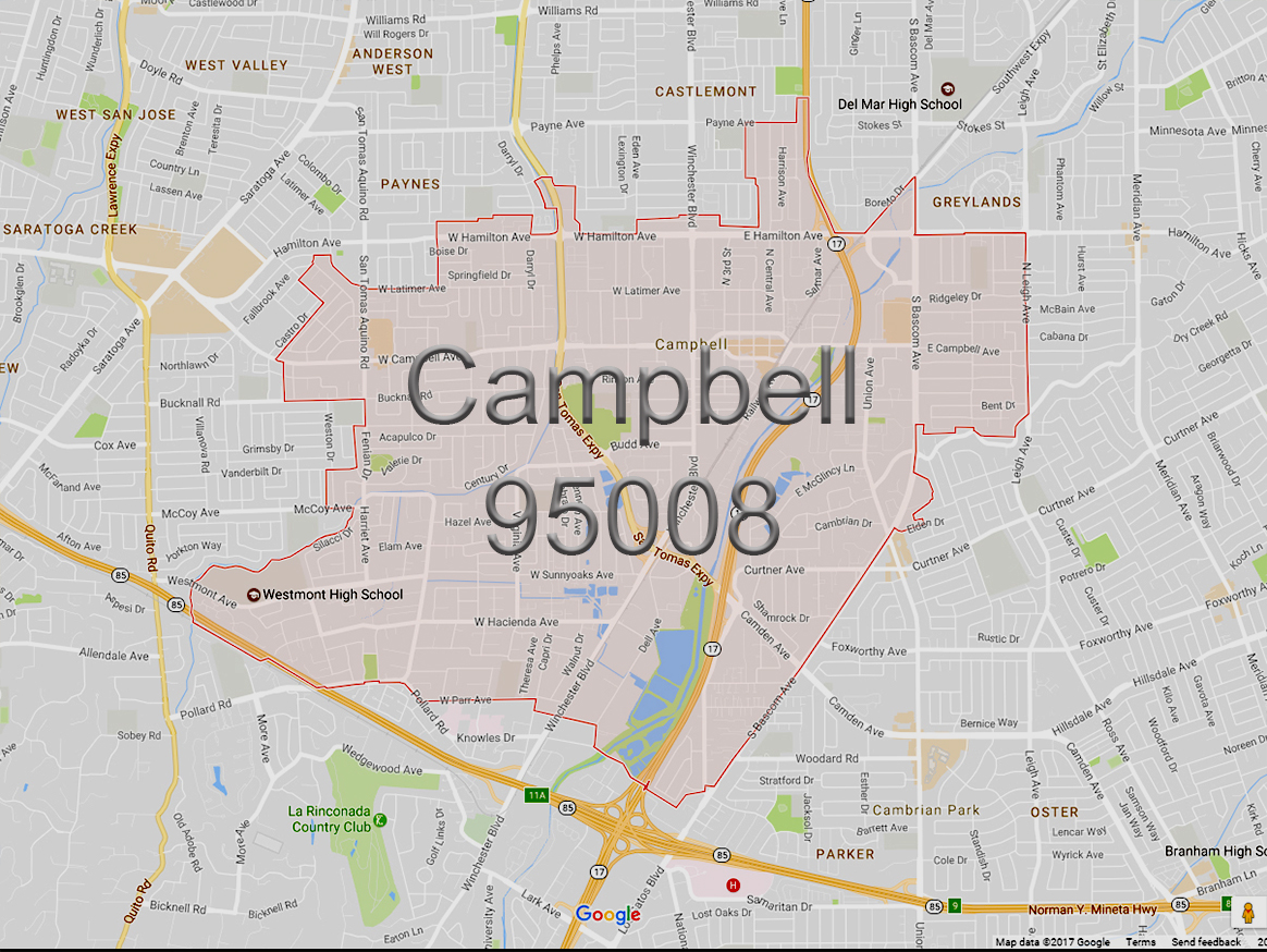 Campbell (95008)