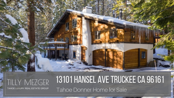 Tahoe Donner CA Homes for Sale - Be the proud owner of this amazing mountain home for sale in Tahoe Donner CA.