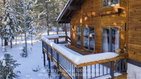 Tahoe Donner CA Homes - Enjoy epic views, fresh air, and beautiful woodworks in this Tahoe Donner CA home for sale.