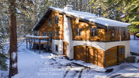 Homes for Sale in Tahoe Donner CA - Enjoy peace, privacy, and rest in this gorgeous Tahoe Donner CA home for sale.