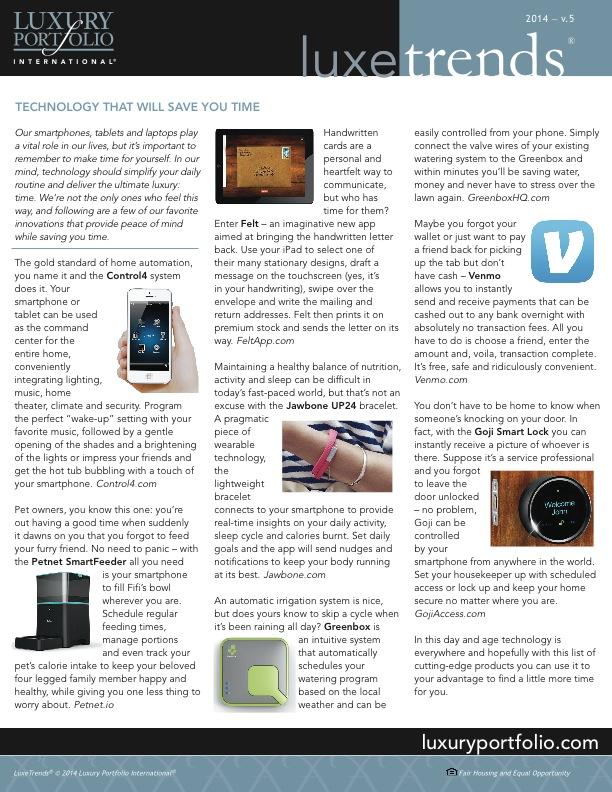Lux Trends - Hot Tech Gadgets