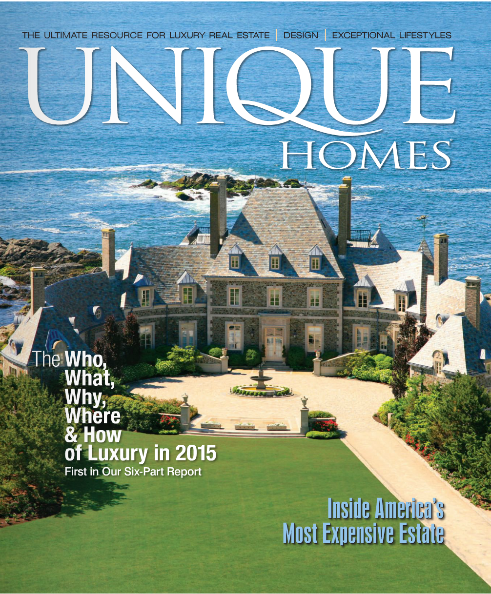 Unique Homes Magazine 2015