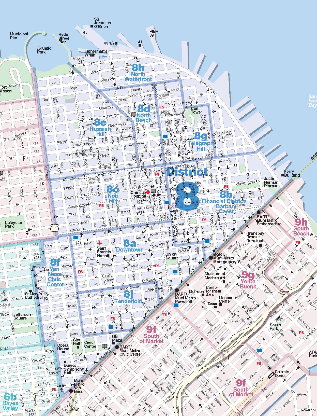 DowntownNorth Beach San Francisco California Real Estate