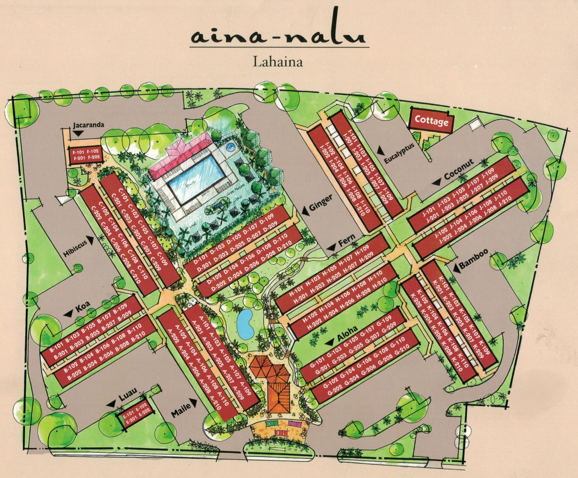Aina Nalu Site Plan
