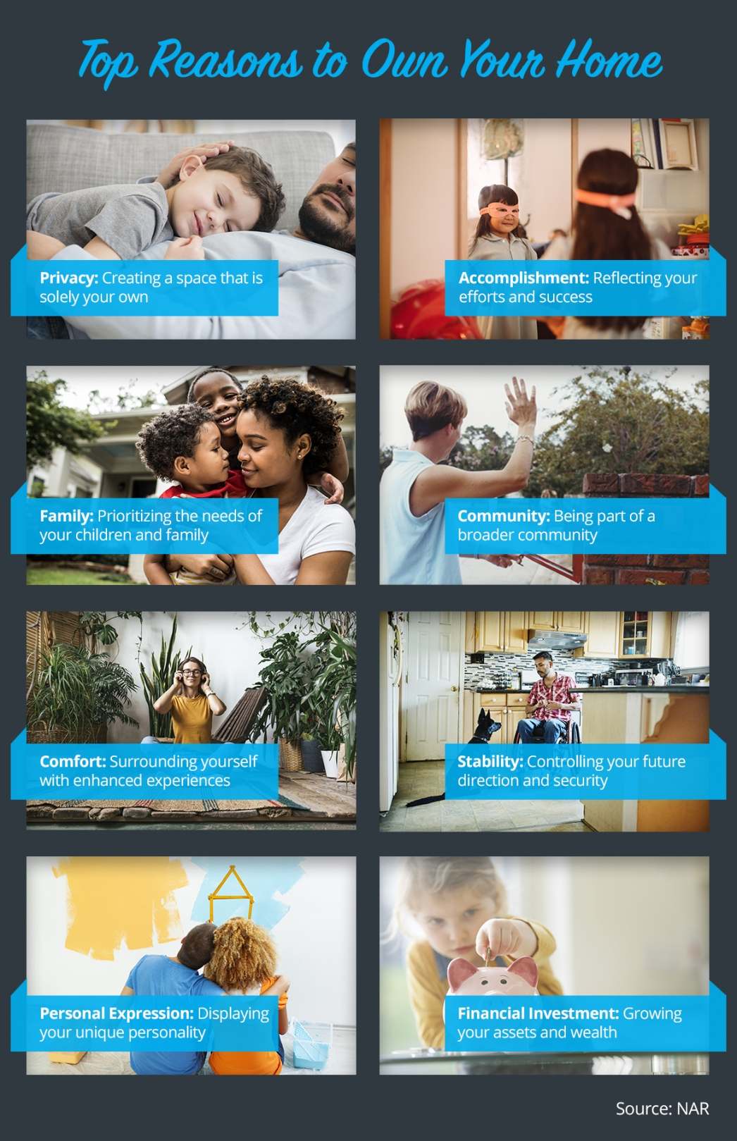 Top Reasons to Own Your Home [INFOGRAPHIC]   MyKCM