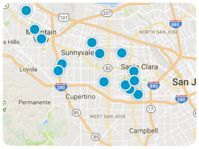 San Jose Real Estate Map Search