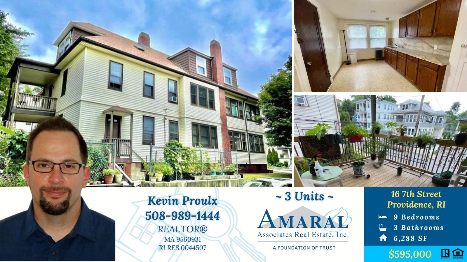 NEW LISTING ~ 16 7th Street, Providence, RI ~ $595,000