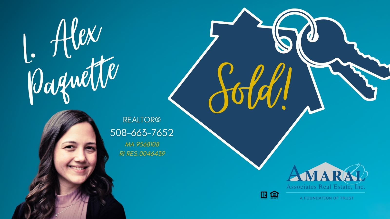 SOLD with L. Alex Paquette! 75 Norman St, New Bedford, MA