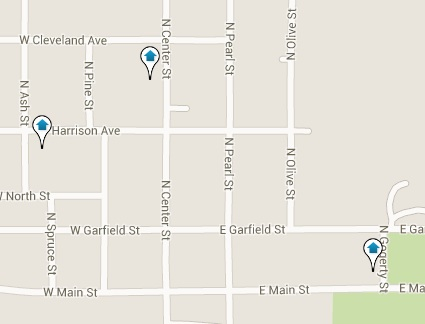 Zearing Homes for Sale Map Search Results