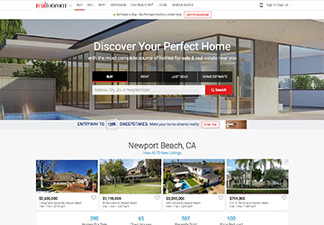 Realtor.com Website