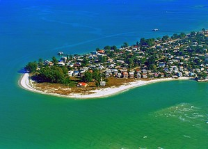 Picture of North tip of Anna Maria Island
