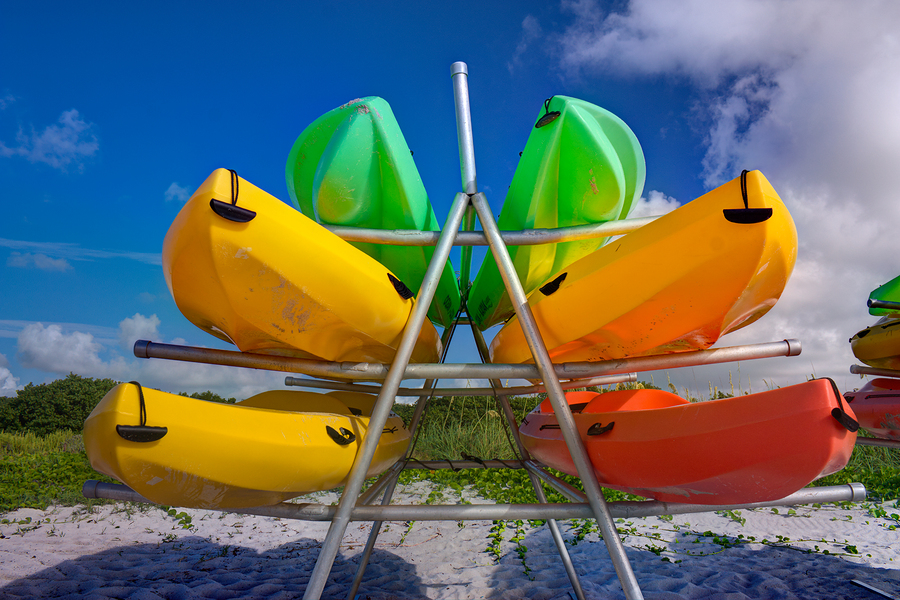 Go kayaking on Anna Maria FL real estate.