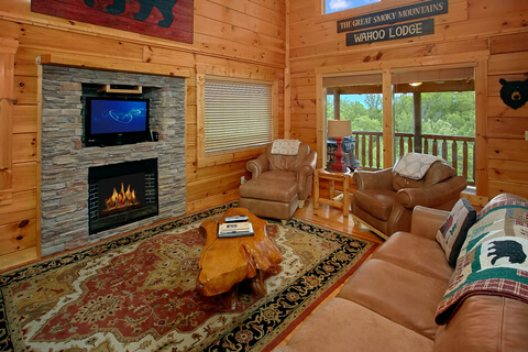 gatlinburg resort hr elk tennesse cabins es cabin creeksong deck springs in