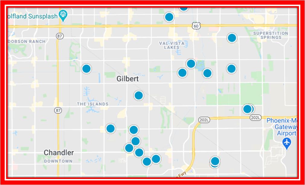 Interactive map of the neighborhood neely commons