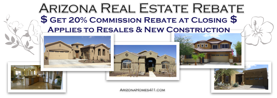 Arizona Real Estate Rebate - Arizona Home Buyer Rebate