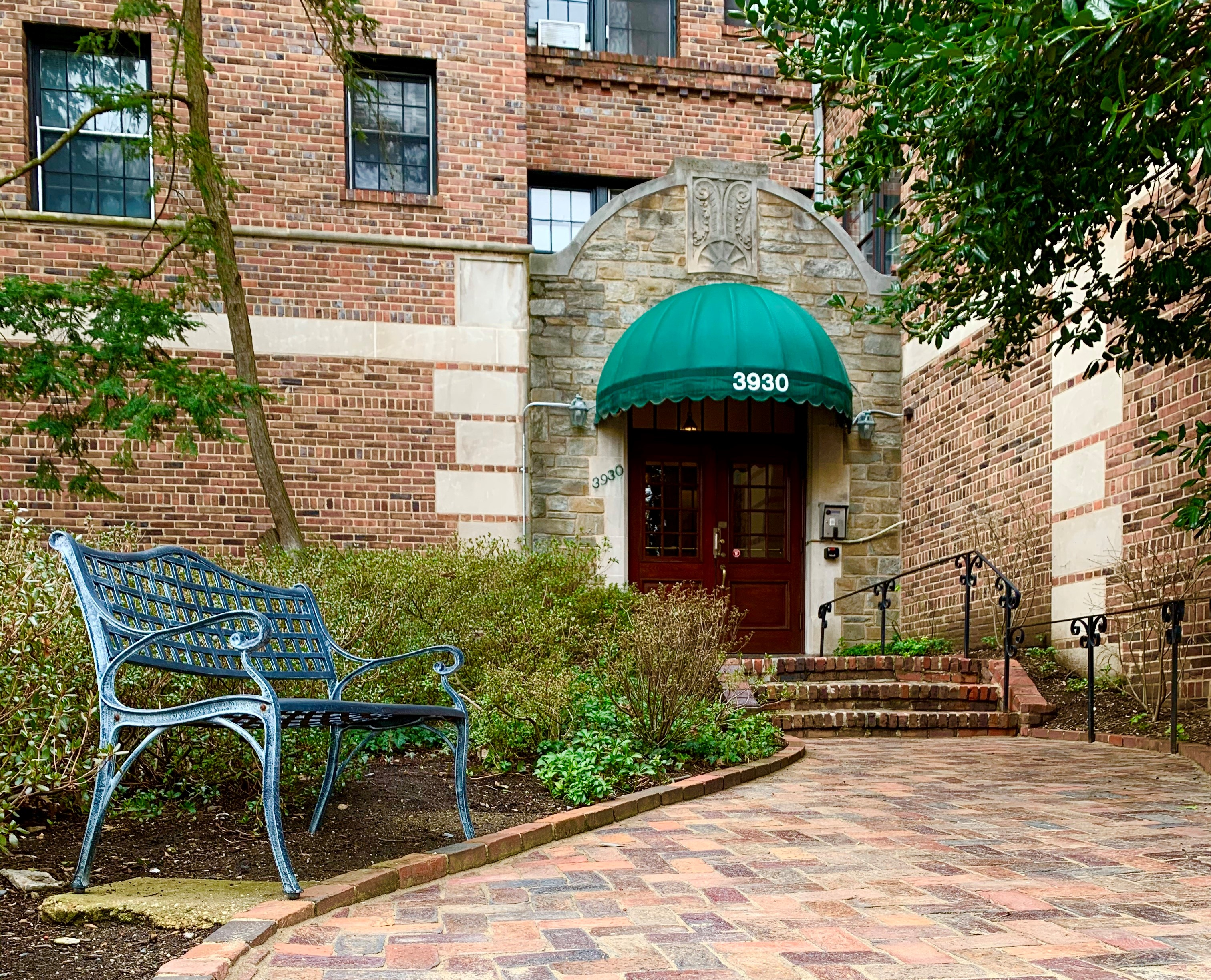 Tilden Gardens Coop. 3930 Sedgewick Street NW. Washington, DC Beaux Arts Style Condos