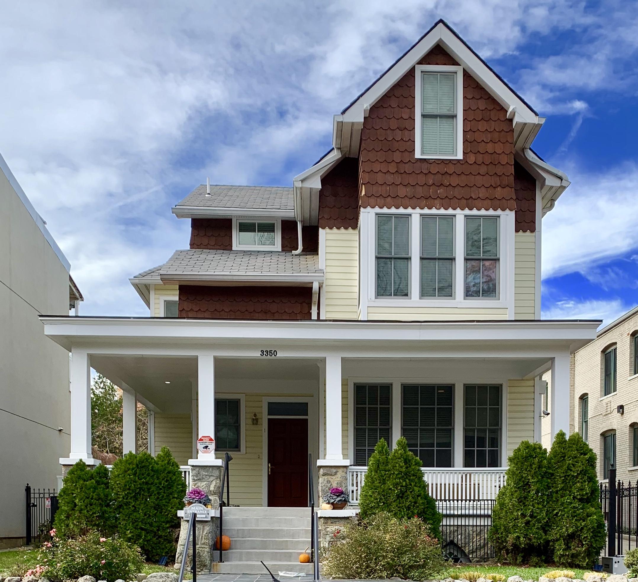 Craftsman Homes in Washington, DC. 17th Street in Mount Pleasant
