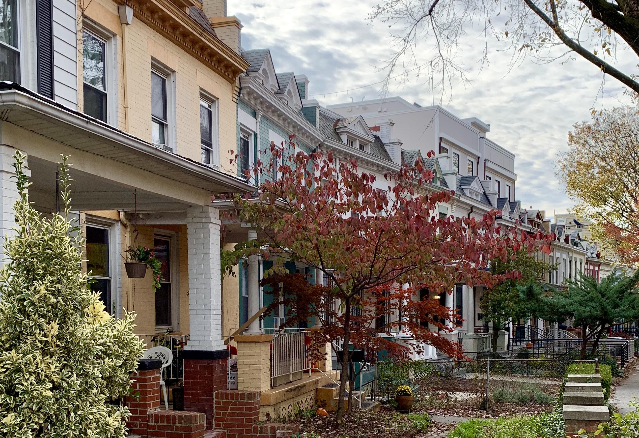 Craftsman Homes in Washington, DC. Bryant Street in Bloomingdale