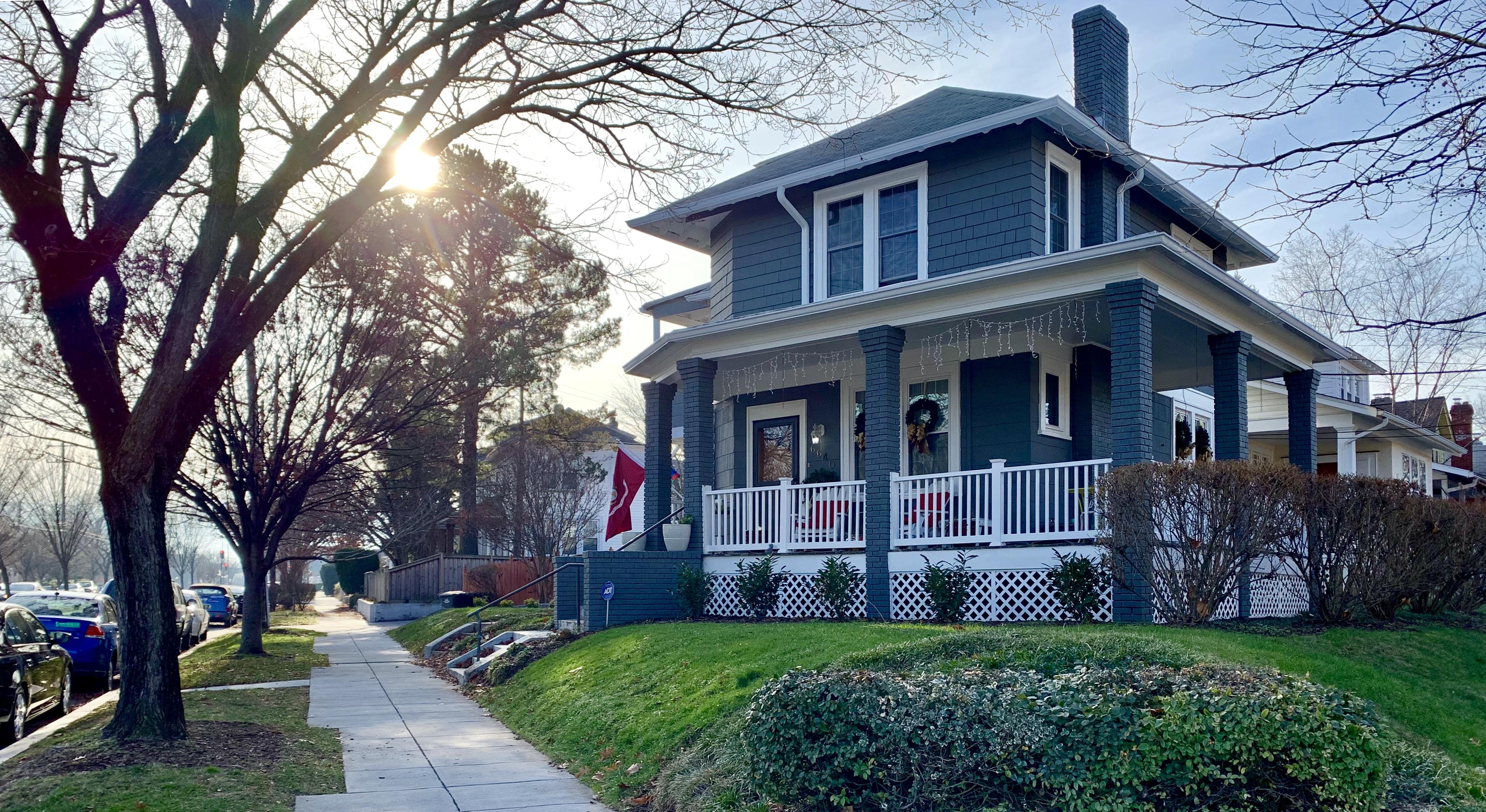 Craftsman Homes in Washington, DC. Whittier Pl in Takoma
