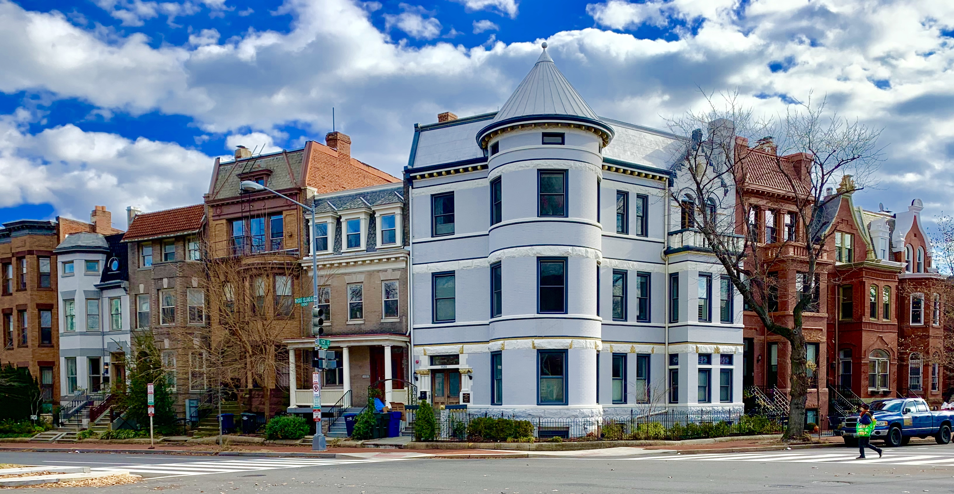Washington, DC Boutique and Townhouse Condos For Sale. Rhode Island Avenue at Logan