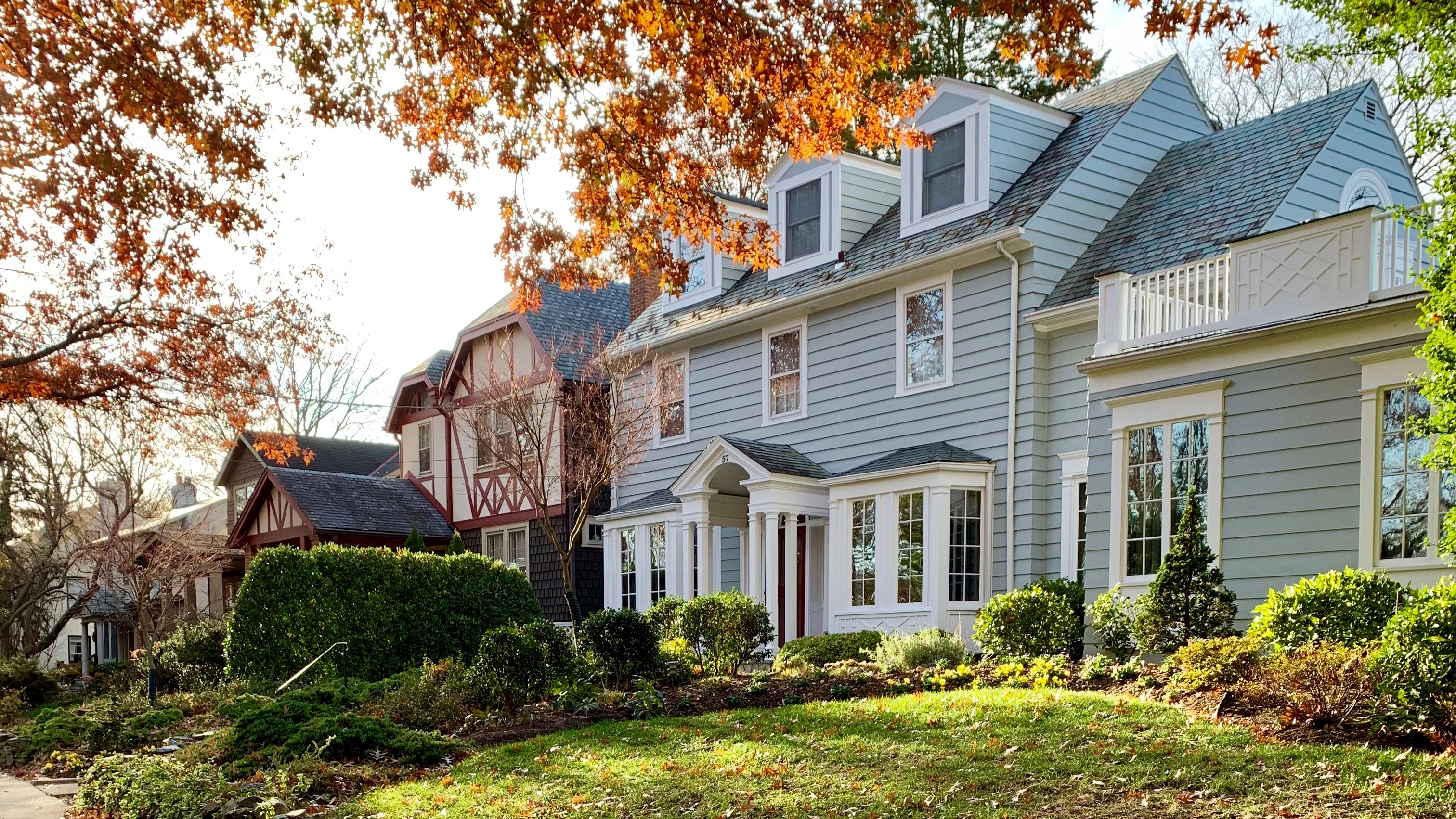 Luxury Homes in Observatory Circle, DC. Colonial and Tudor Homes.