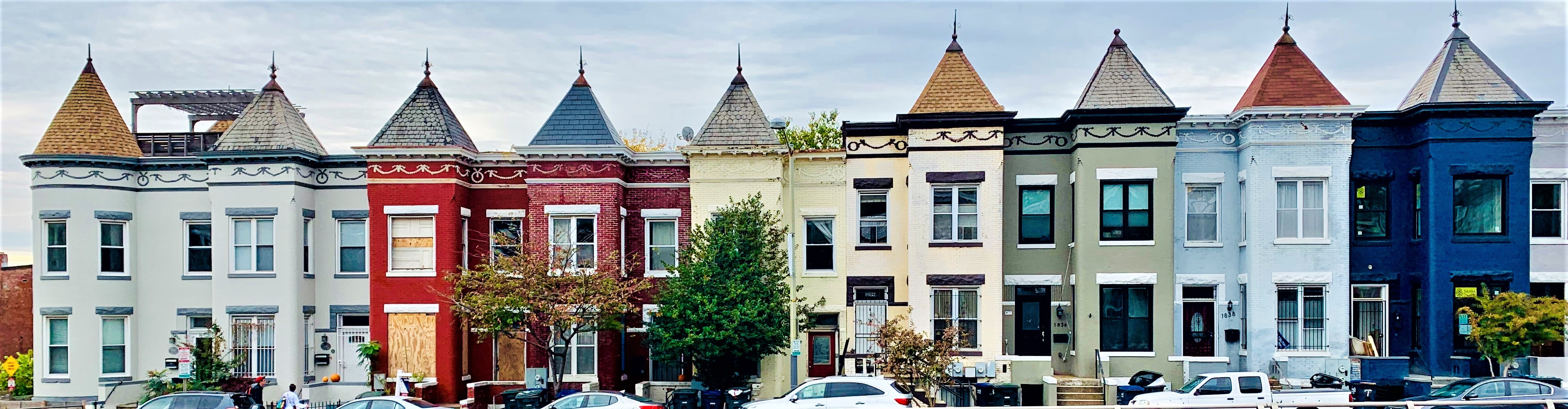Washington, DC Row Homes For Sale. Near North Capitol street. Artyom Shmatko Realtor