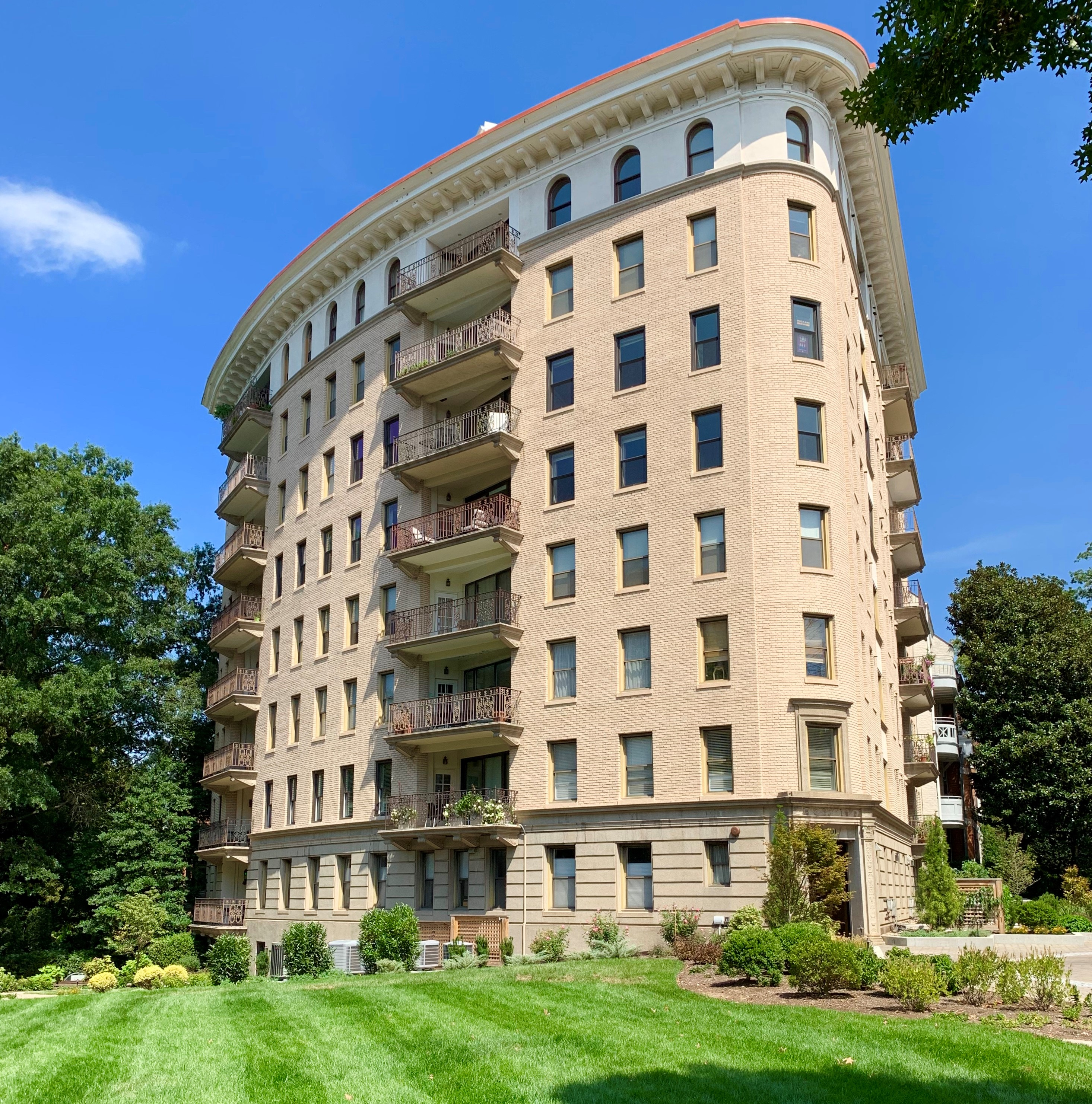 Washington, DC Beaux Arts Style Condos For Sale. The Carthage. Artyom Shmatko Realtor