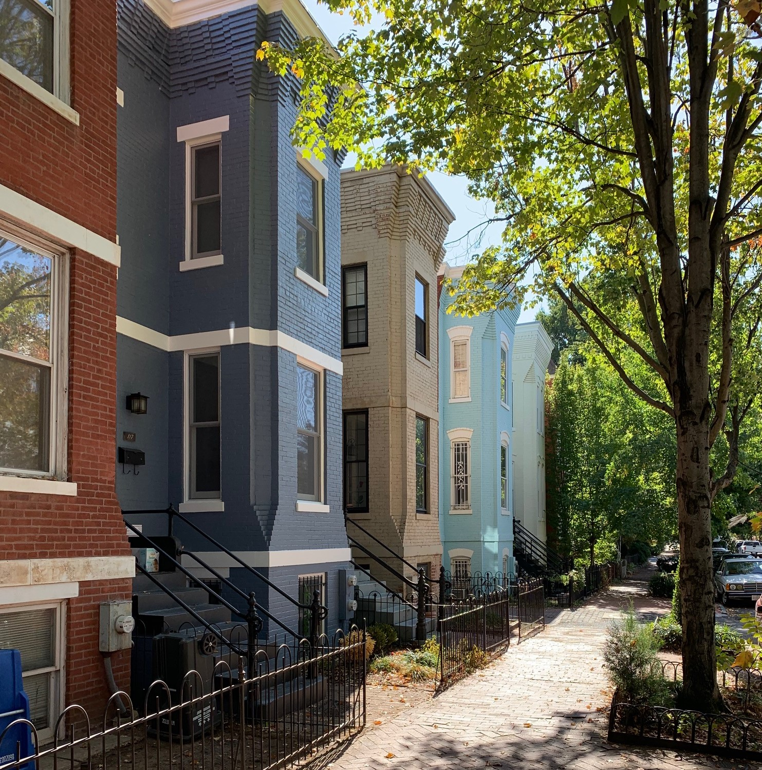 Washington, DC Historic Homes For Sale. 10th St NE in Capitol Hill. Artyom Shmatko Luxury Real Estate Agent