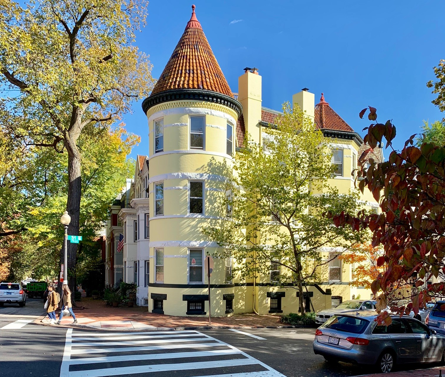 Washington, DC Historic Homes For Sale. 31st St in Georgetown. Artyom Shmatko Luxury Real Estate Agent