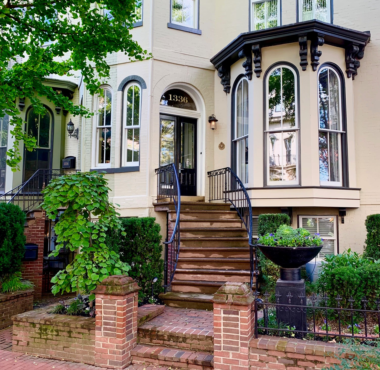Washington, DC Historic Homes For Sale. Corcoran St in Logan Circle. Artyom Shmatko Luxury Real Estate Agent