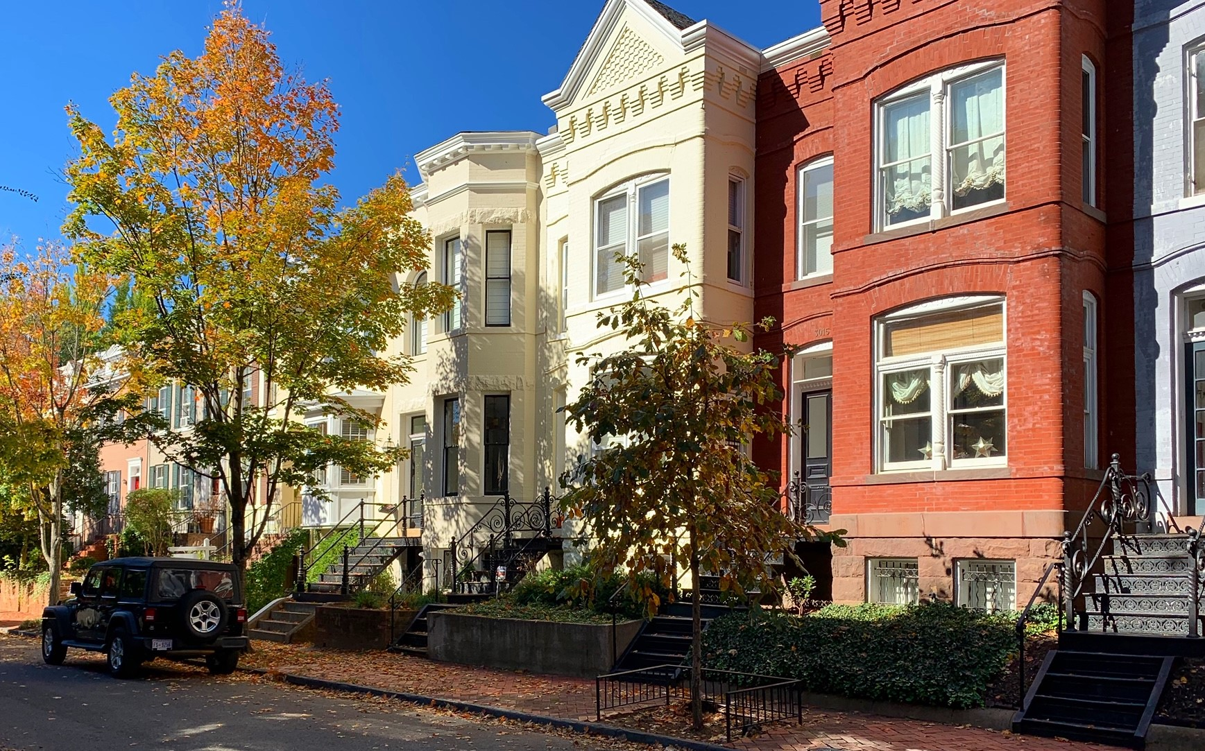 Washington, DC Historic Homes For Sale. Dent Pl in Georgetown. Artyom Shmatko Luxury Real Estate Agent
