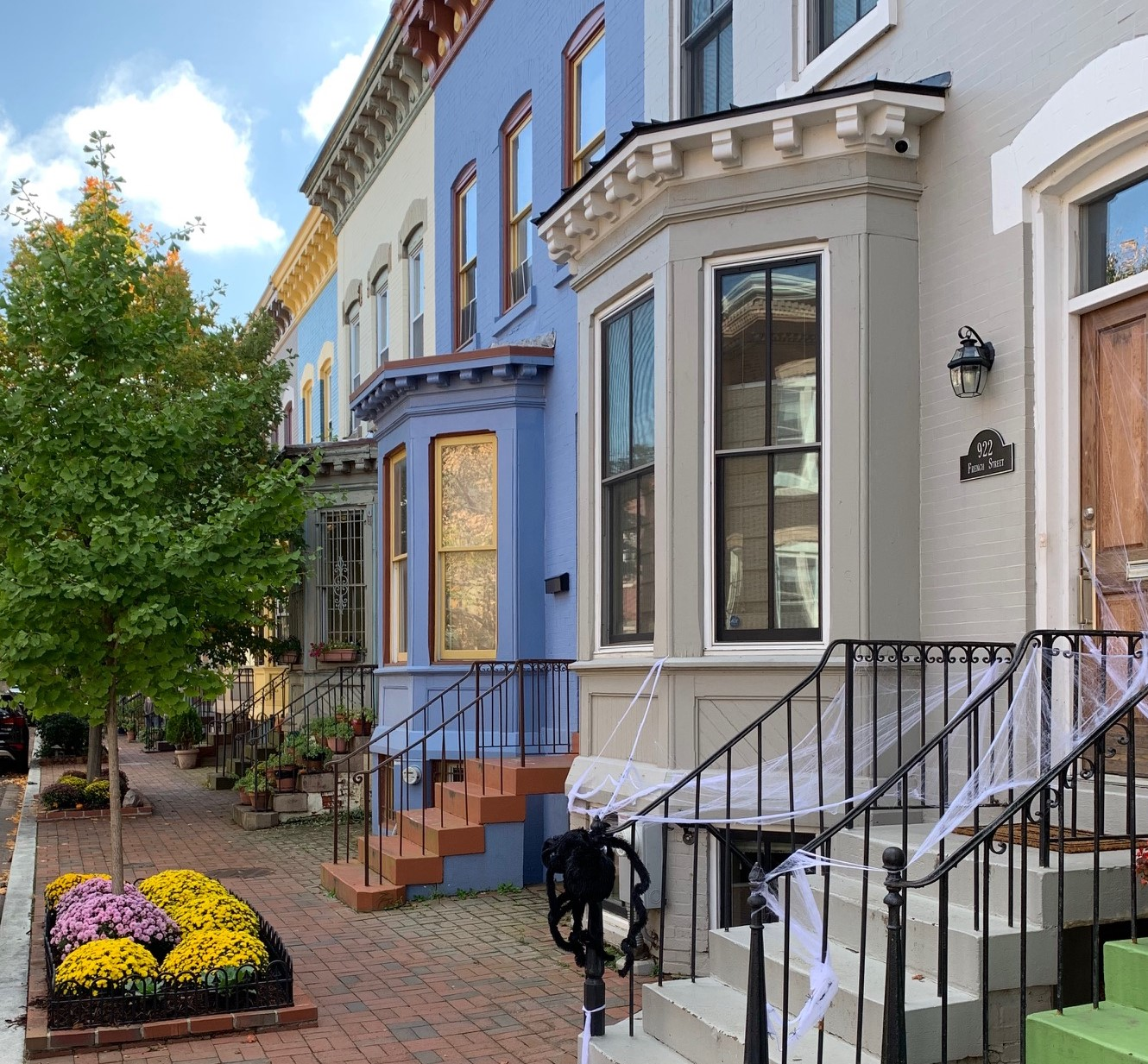 Washington, DC Historic Homes For Sale. French St in Shaw. Artyom Shmatko Luxury Real Estate Agent