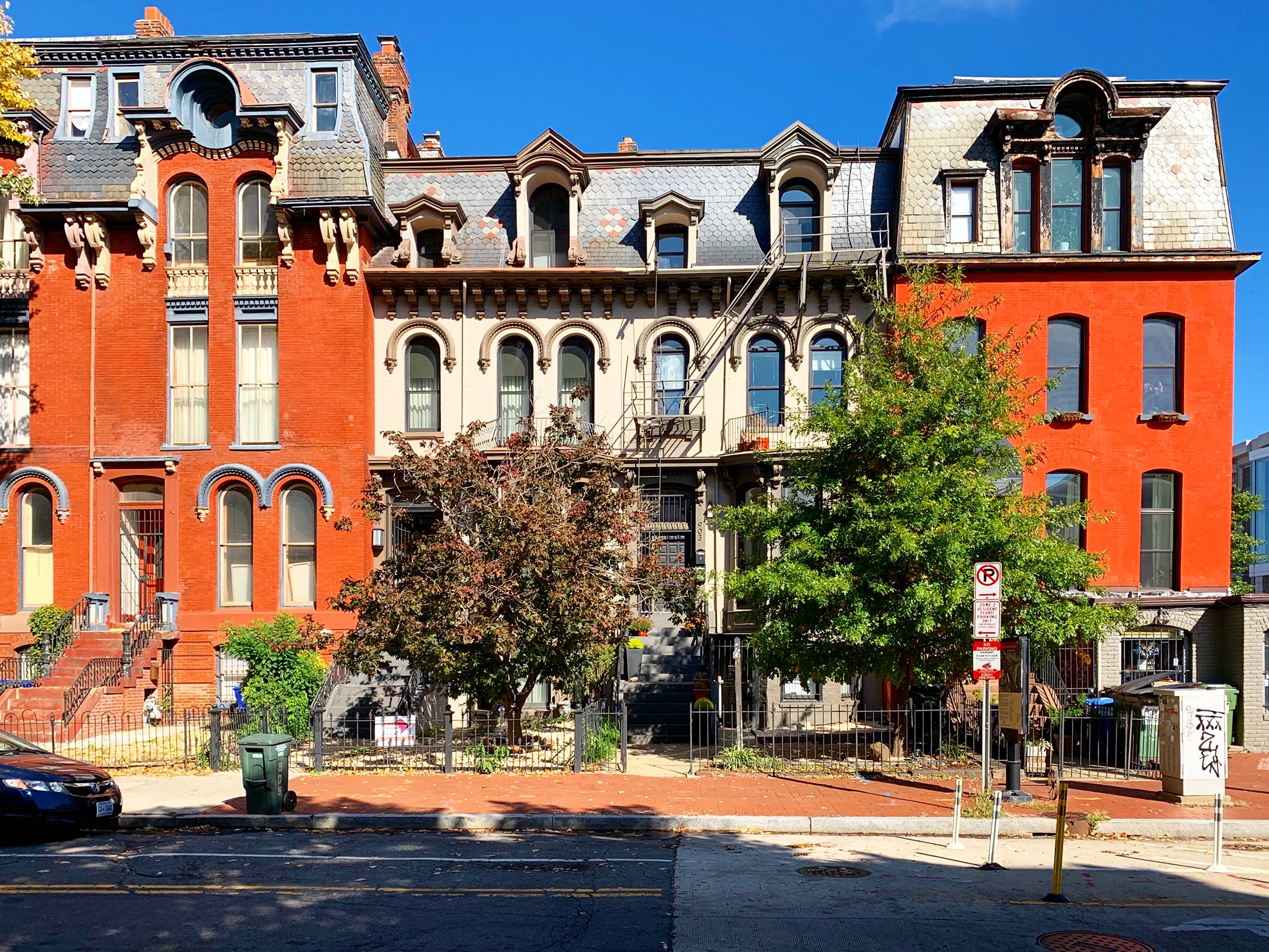 Washington, DC Historic Homes For Sale. M St in Shaw. Artyom Shmatko Luxury Real Estate Agent