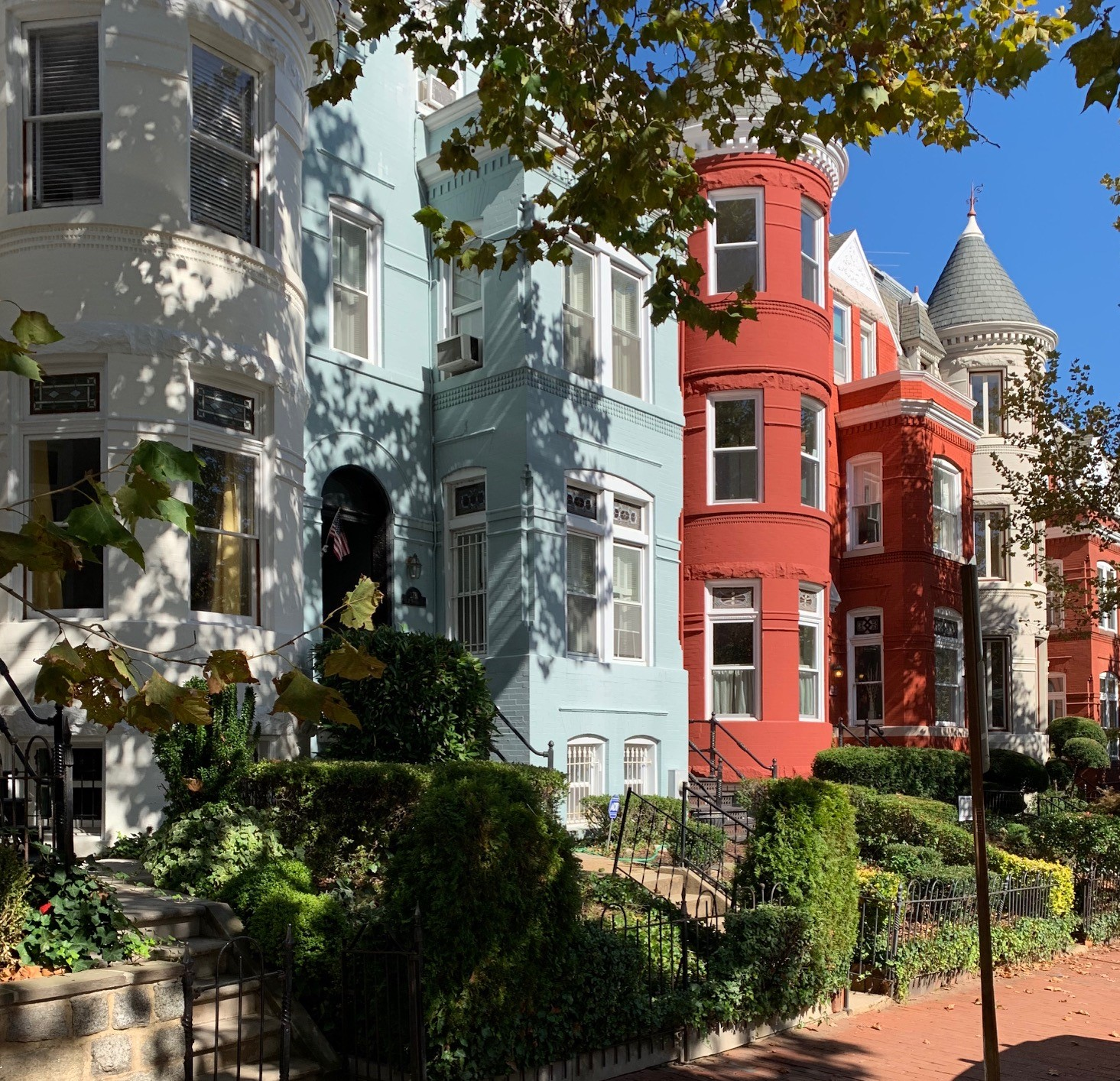 Washington, DC Historic Homes For Sale. P St in Georgetown. Artyom Shmatko Luxury Real Estate Agent