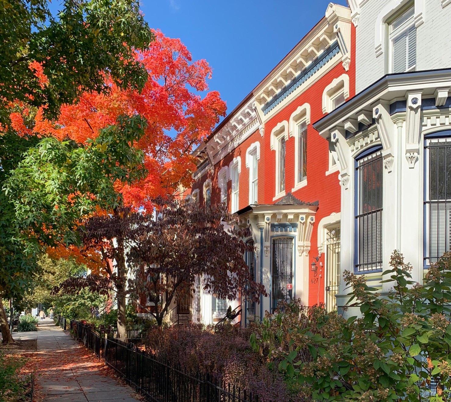 Washington, DC Historic Homes For Sale. Q St in Shaw. Artyom Shmatko Luxury Real Estate Agent