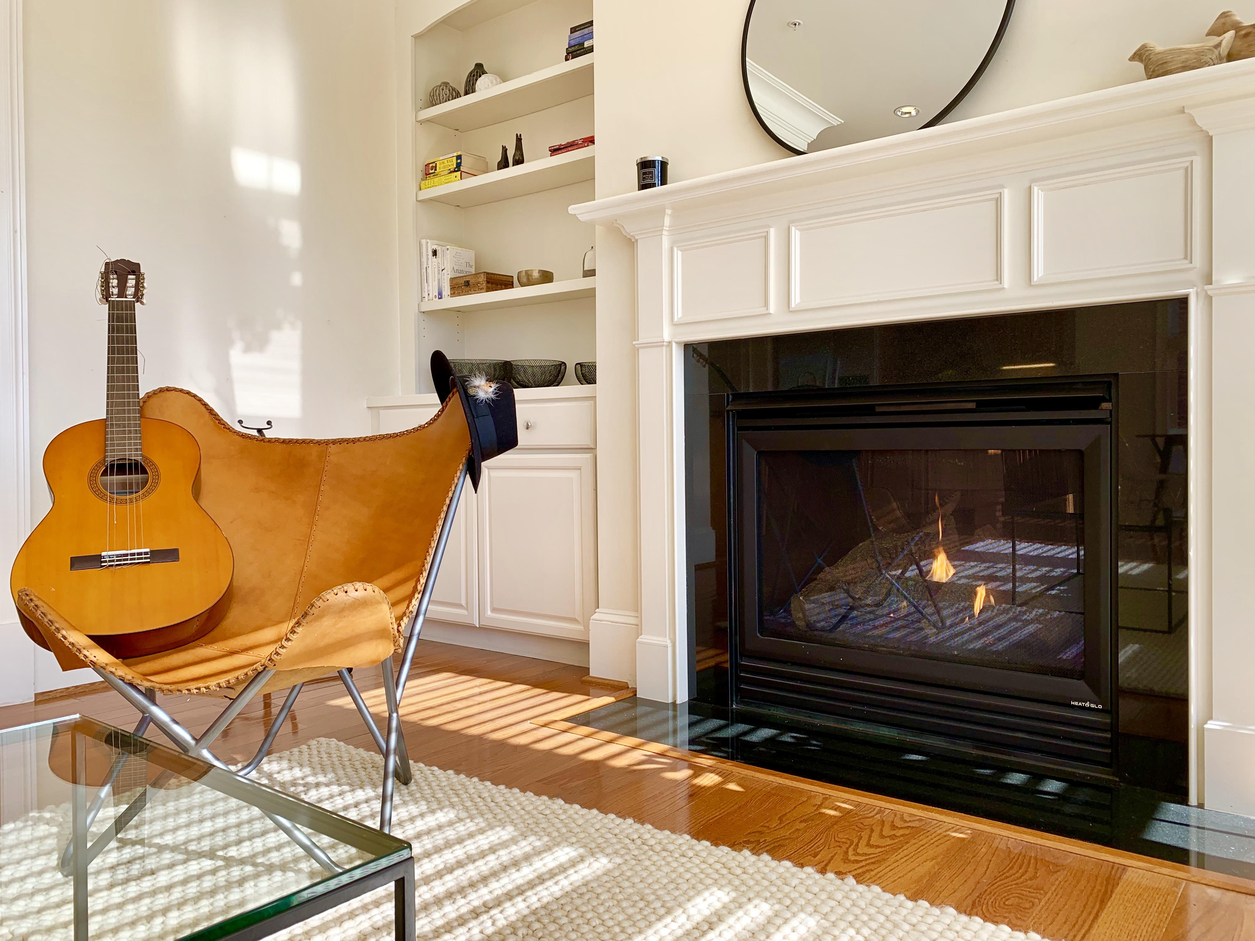 Washington, DC Homes With Fireplace. Brookland Neighborhood.