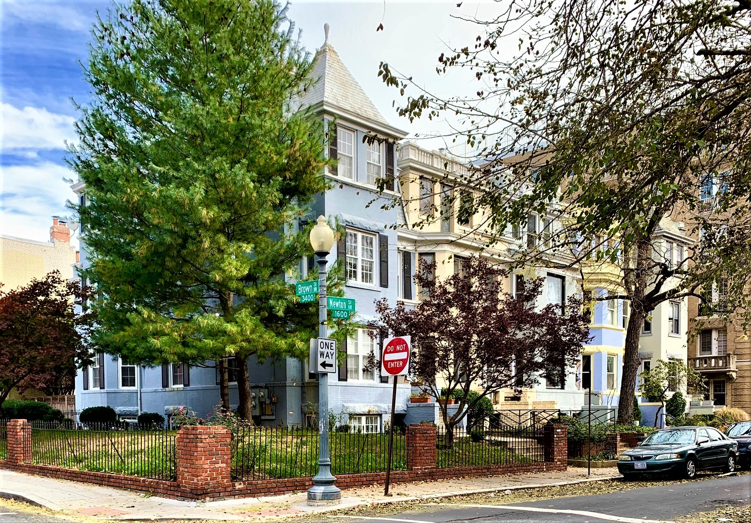 Washington, DC Townhomes For Sale. Brown St in Mount Pleasant. Artyom Shmatko Luxury Real Estate Agent