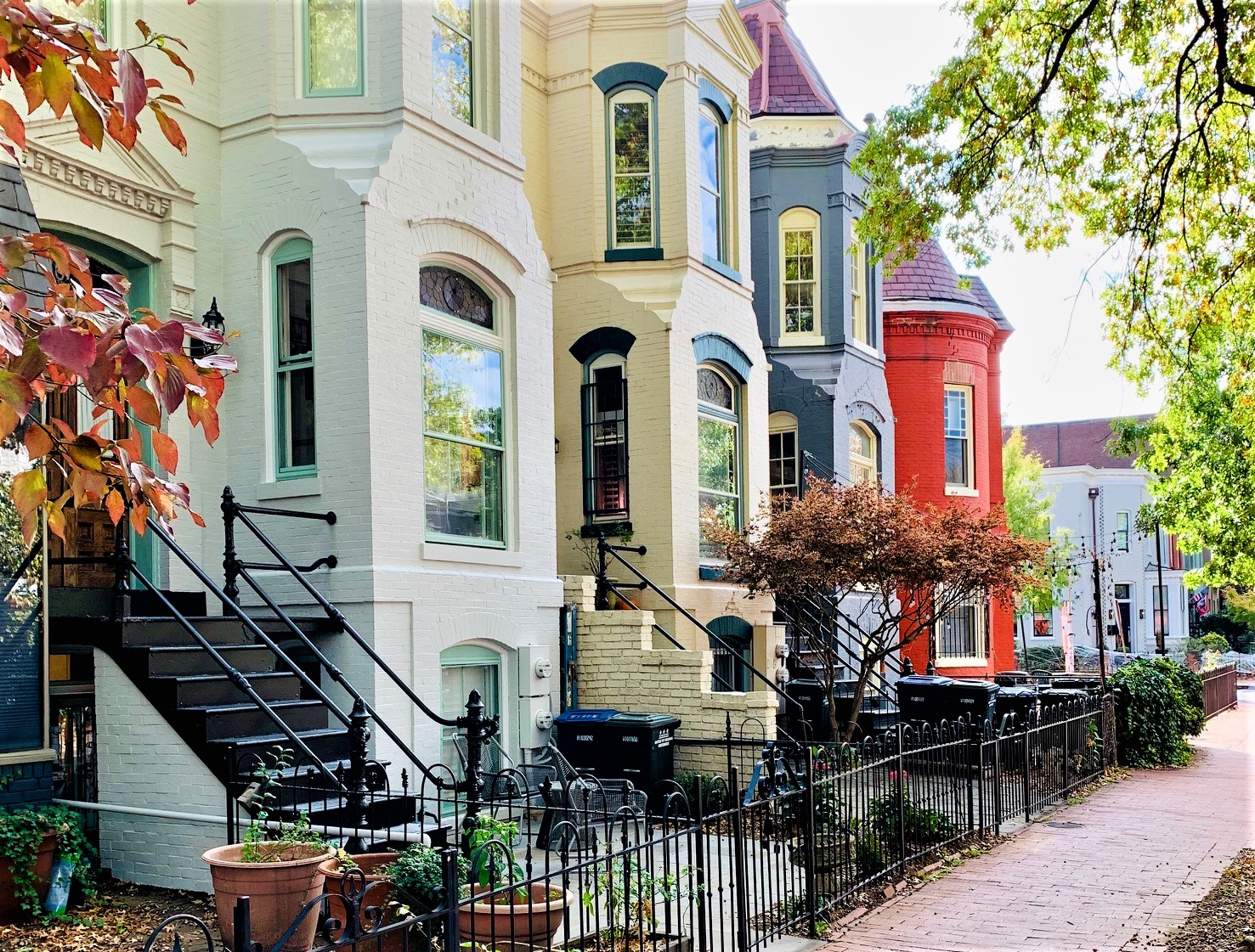 Washington, DC Townhomes For Sale. Capitol Hill. Artyom Shmatko Luxury Real Estate Agent