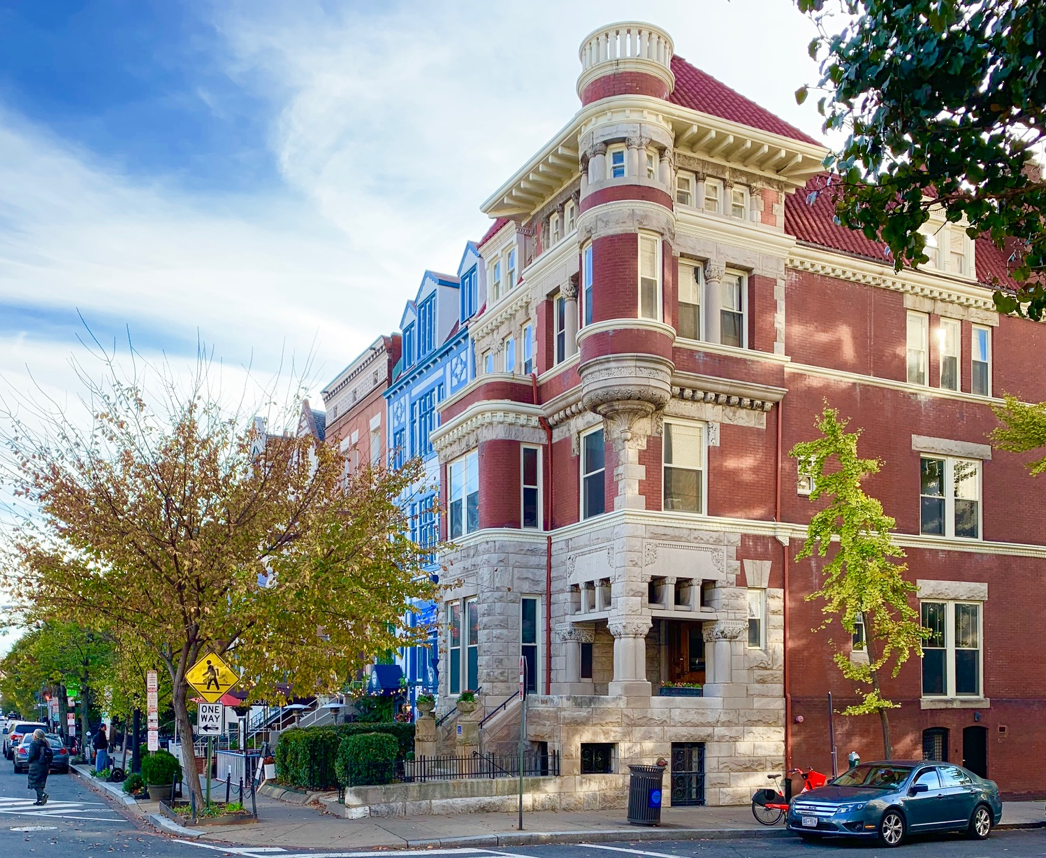 Washington, DC Townhomes For Sale. Connecticut Ave in Dupont Circle. Artyom Shmatko Luxury Real Estate Agent