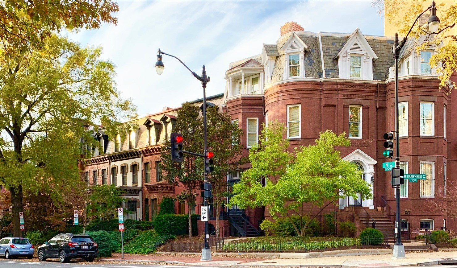 Washington, DC Townhomes For Sale. N Street in Dupont Circle. Artyom Shmatko Luxury Real Estate Agent