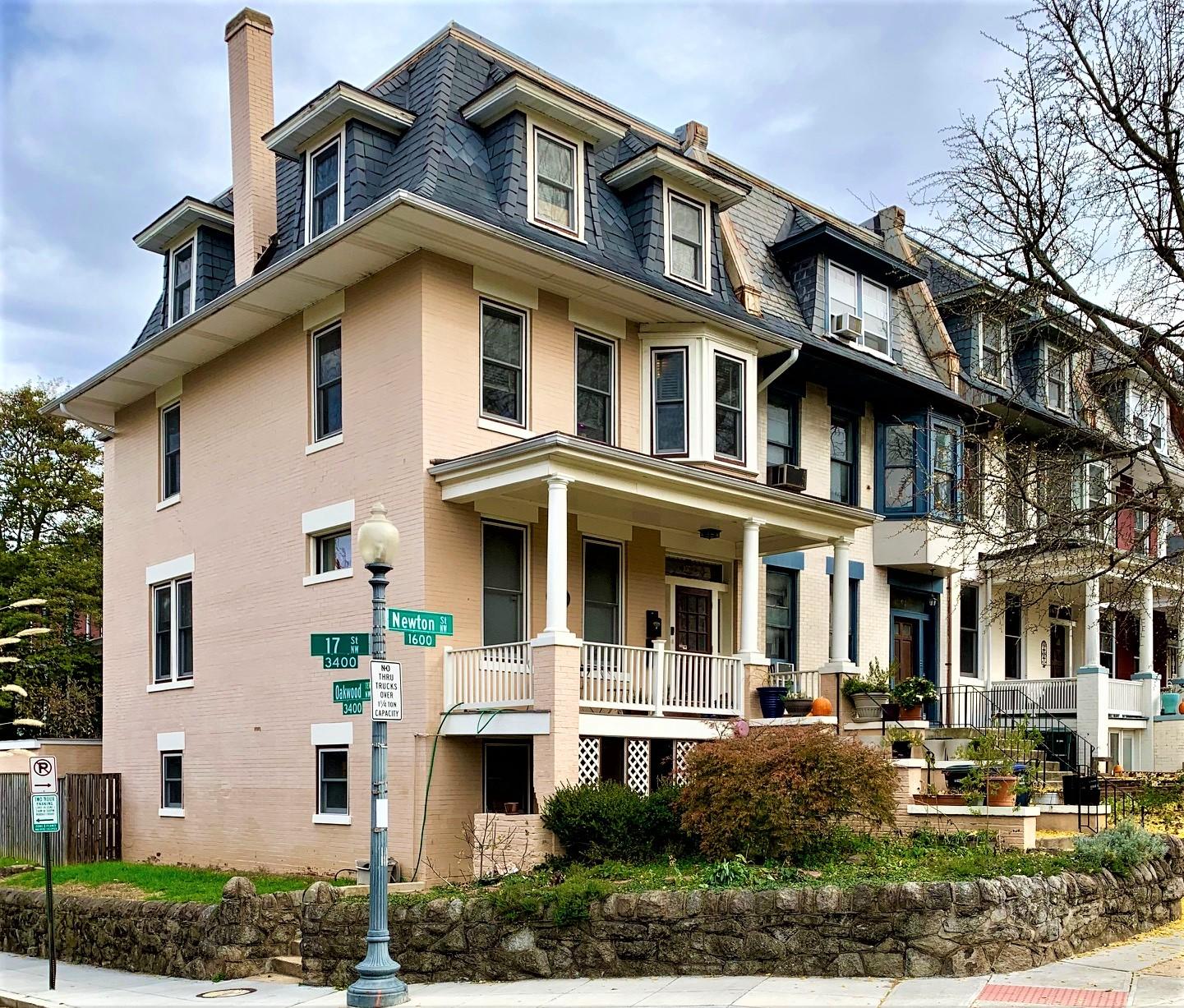 Washington, DC Townhomes For Sale. Newton Street in Mount Pleasant. Artyom Shmatko Luxury Real Estate Agent