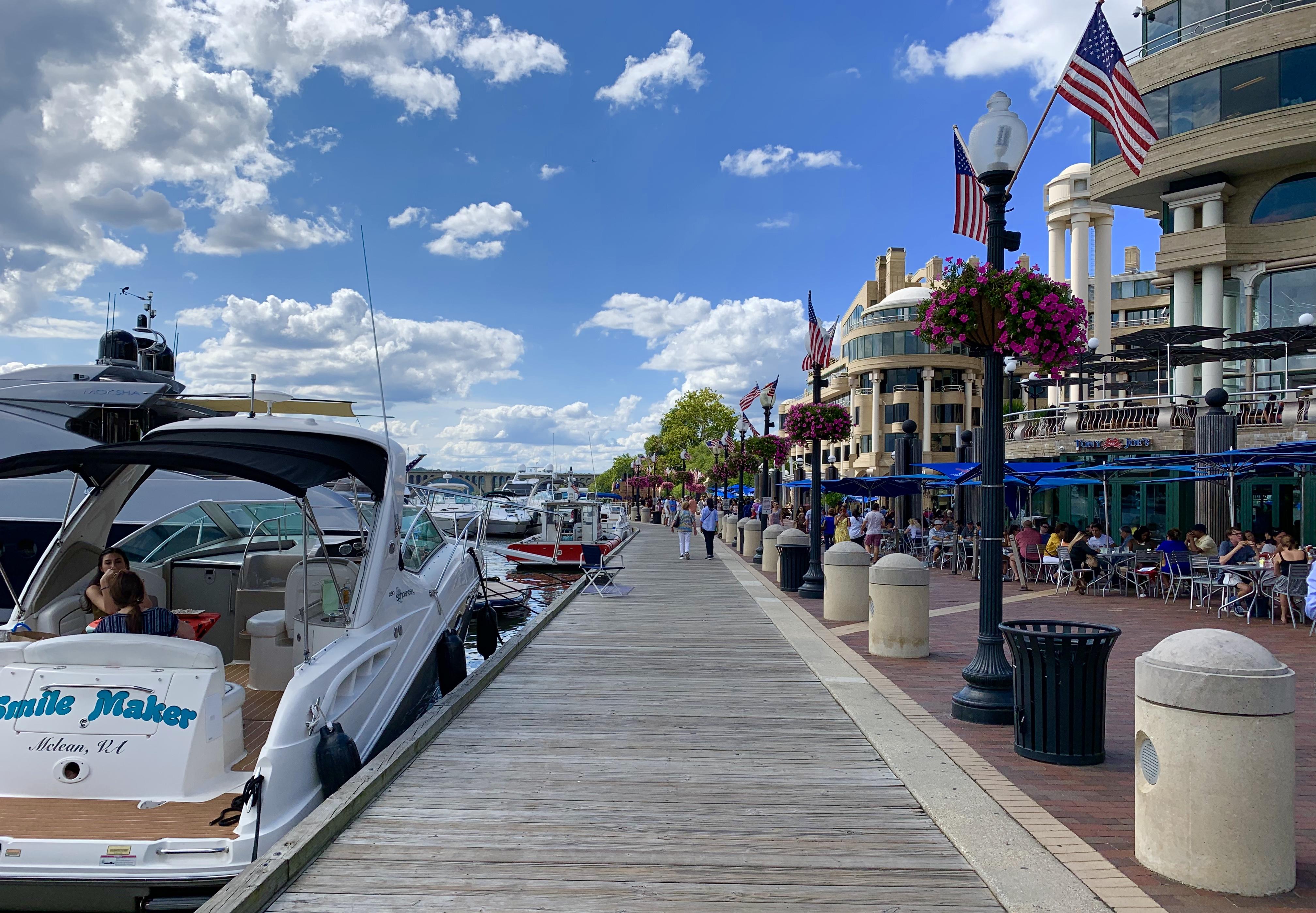 Washington Harbor in Georgetown. Washington, DC Waterfront Homes